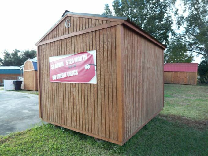 12x24 graceland portable buildings price quotes for Garden shed jokes