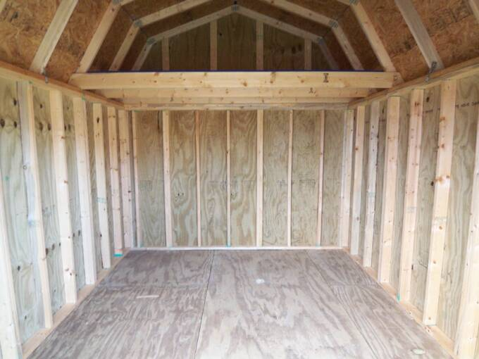 10 X 12 Lofted Barn Pics Page
