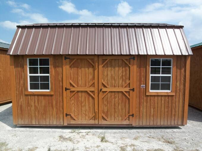 Graceland Portable Buildings 10 X 16 Side Lofted Barn Pics