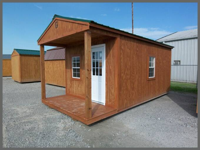 10 X 20 Front Porch Cabin Pics Page
