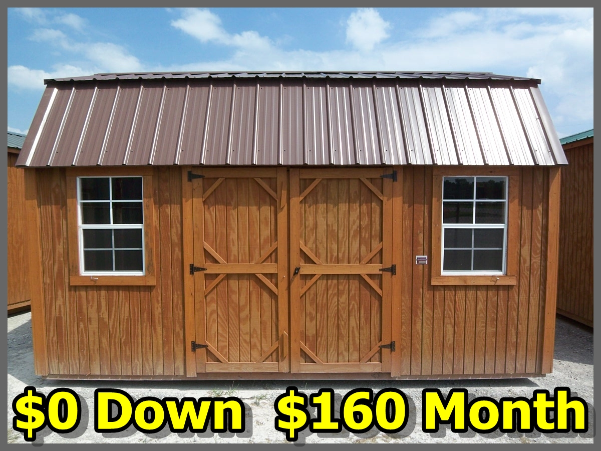 Sheds For Sale: High Quality Storage Sheds, Sizes to 16x40