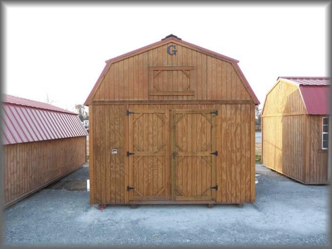 12 X 16 Lofted Barn Pics Page