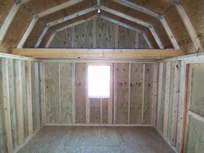 12 X 16 Side Lofted Barn Pics Page