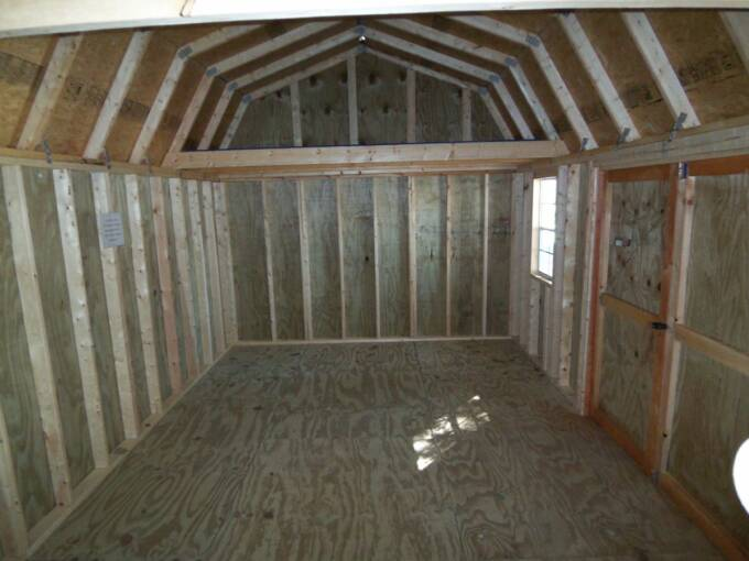 12 X 20 Side Lofted Barn Pics Page