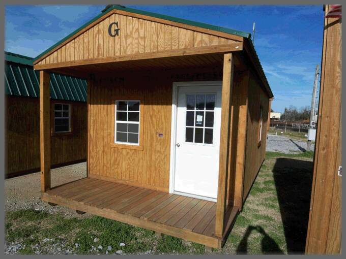 12 X 24 Front Porch Cabin Pics Page