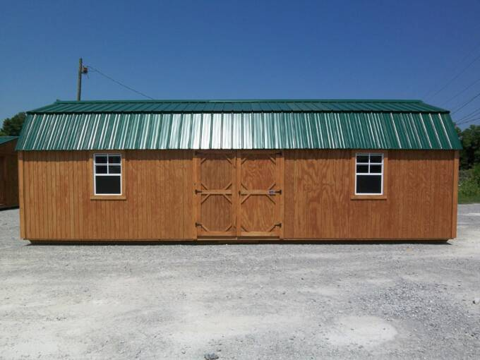 18 lofted barn urethane cabin chestnut cotton state barns