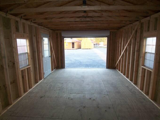 14x24 Metal Carport : Door price garage