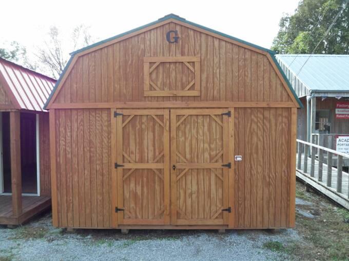 14 X 32 Lofted Barn Pics Page