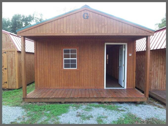 16 X 40 Front Porch Cabin Pics Page