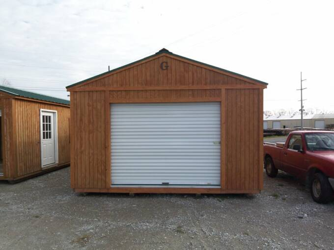 Portable Garage With Windows : Portable garage with extra window