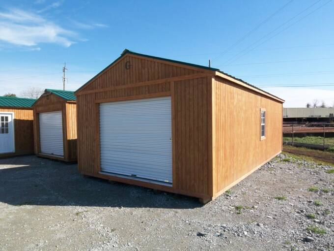 16 X 28 Portable Garage With Extra Window