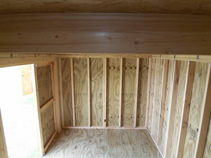 8 X 12 Side Lofted Barn Pics Page