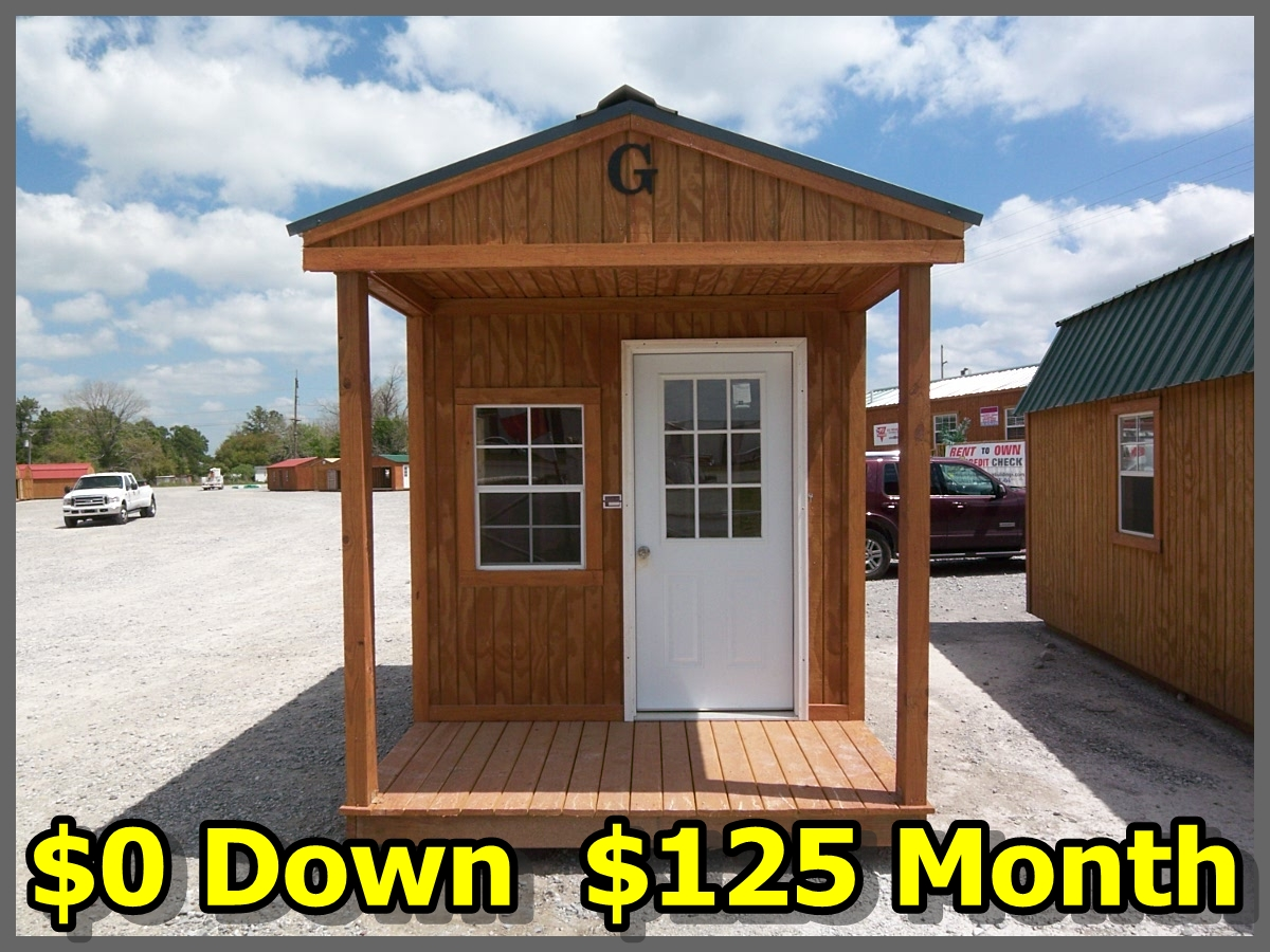 Utility shed for sale high quality graceland utility sheds for Sheds with porches for sale