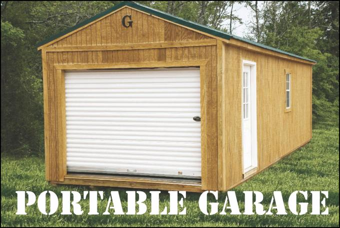 Portable Garages That Stand Up To Winter : Graceland portable buildings garages cabins sheds barns