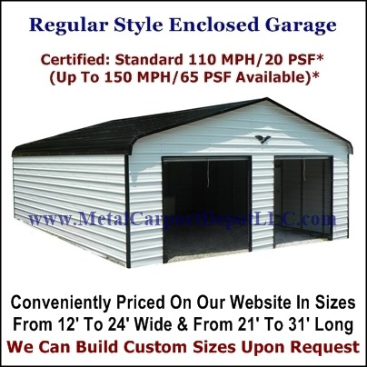 Regular Style Metal Buildings