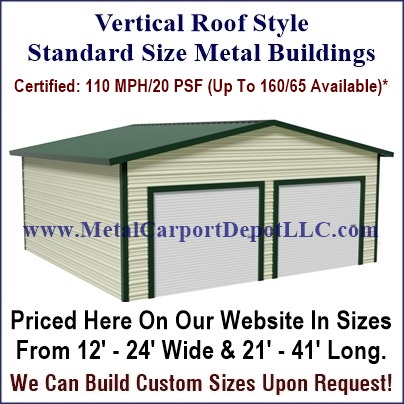 Steel roof styles