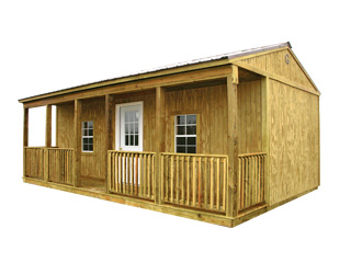 Graceland 16x24 Side Porch Cabin Factory Direct Prices